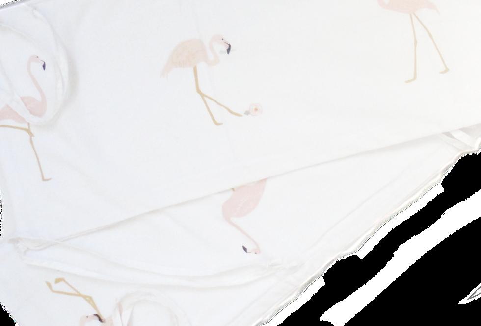 Flamingo Cot Bumper