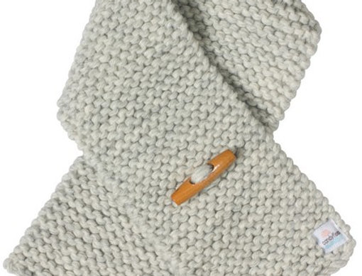 Scarf  TODDLER  - Grey toggle - Unisex