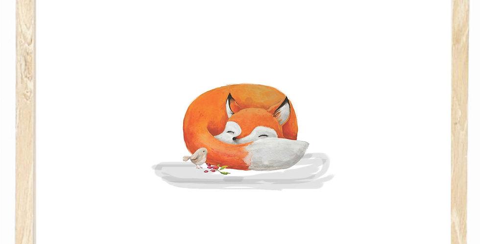 Fox - sleepy