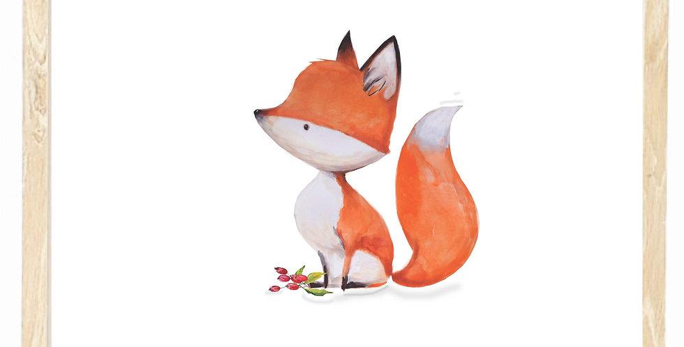 Fox - sitting