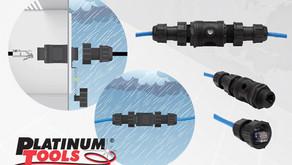Platinum Tools: New Waterproof RJ45 Couplers