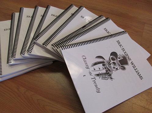 """""""Classy not Trendy 1"""" Sketchbook"""