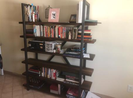 Loaded up Custom Bookshelf