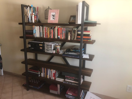 Loaded up Custom Bookshelf