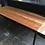 Thumbnail: Industrial Steel & Reclaimed Wood Reception Desk