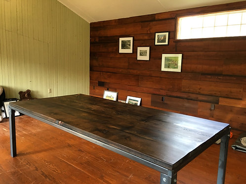 Industrial Barn Wood Conference Table