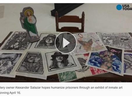 Alexander Salazar Fine Art Gallery April 16