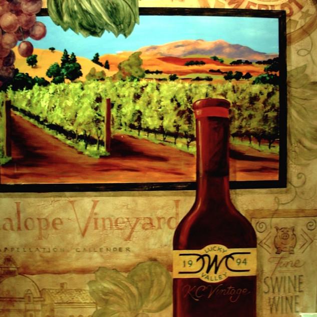 Wine Vault Mural