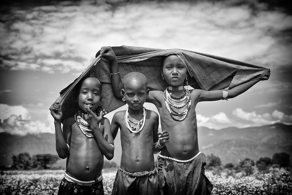 Omo River Valley children