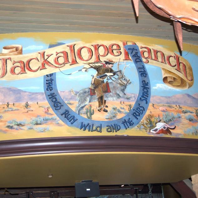 Jackalope Ranch Soffit Mural