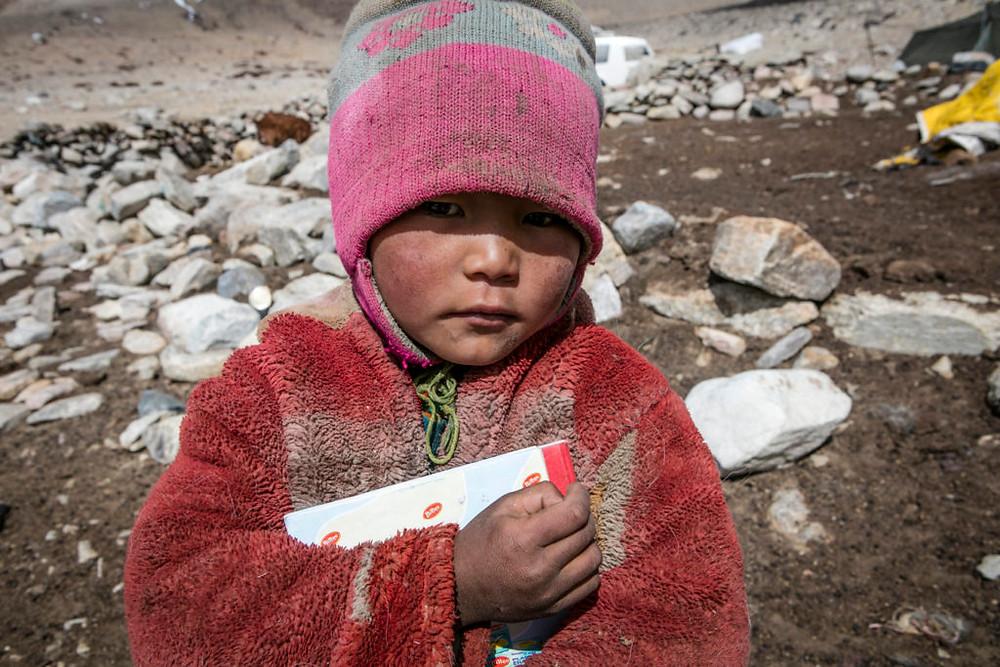Changpa child