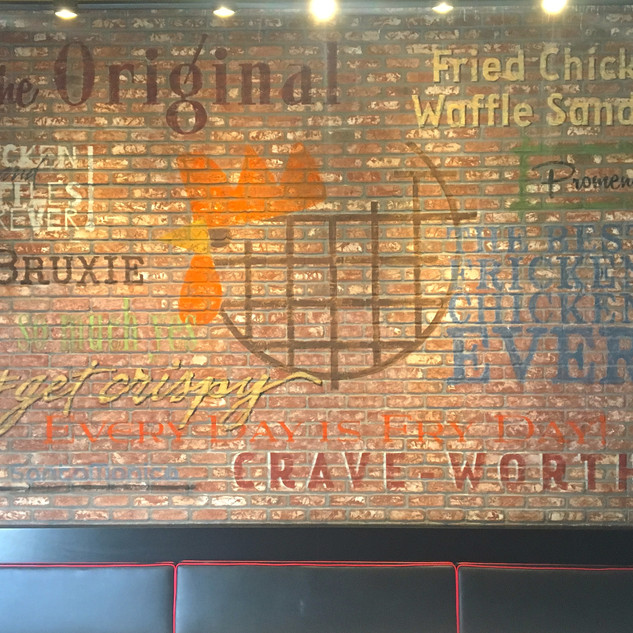 Bruxie Chicken and Waffle Restaurant
