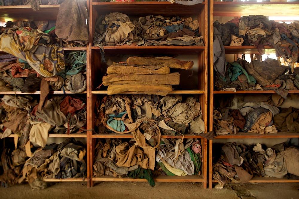 15 Rwanda Genocide belongings of victims