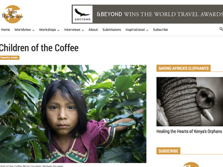 Fem Worldview Magazine features Children of the Coffee