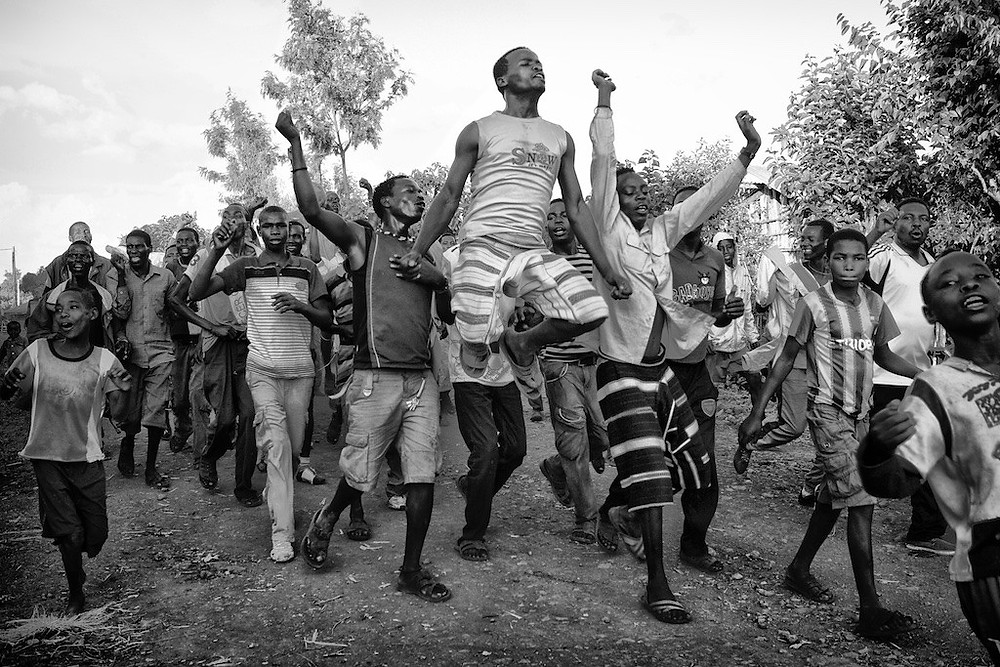 Omo River Valley youths