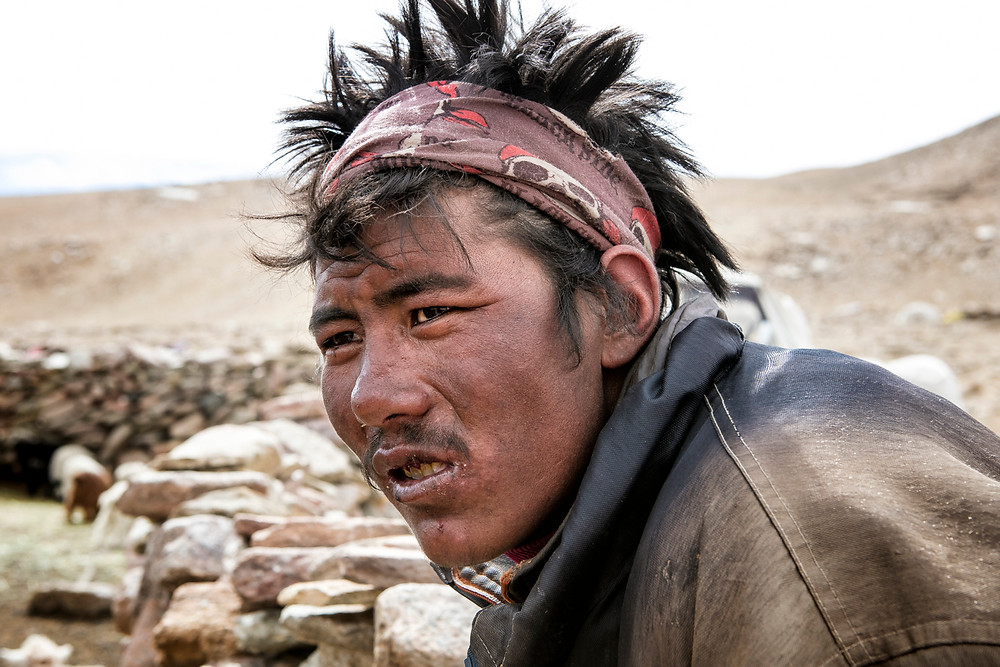 Changpa man