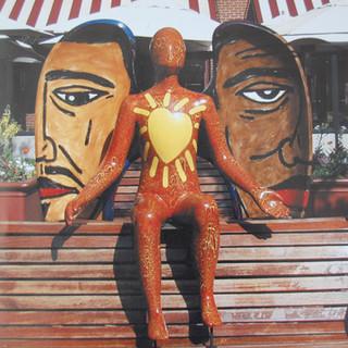 Come Together Sculpture - City of Angels Sculpture