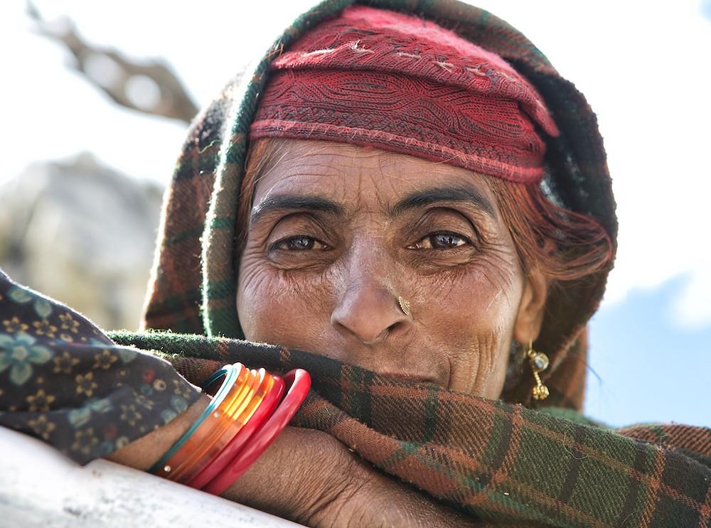 Woman with bracelets