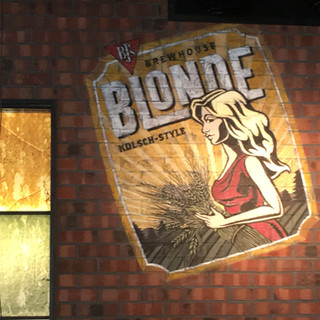 BJ'S BLONDE BEER LABEL