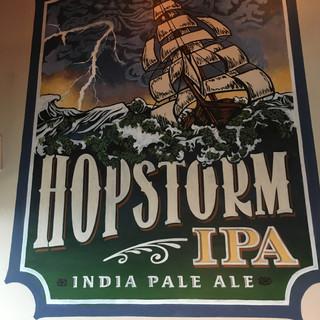 Hopstrom Beer Label