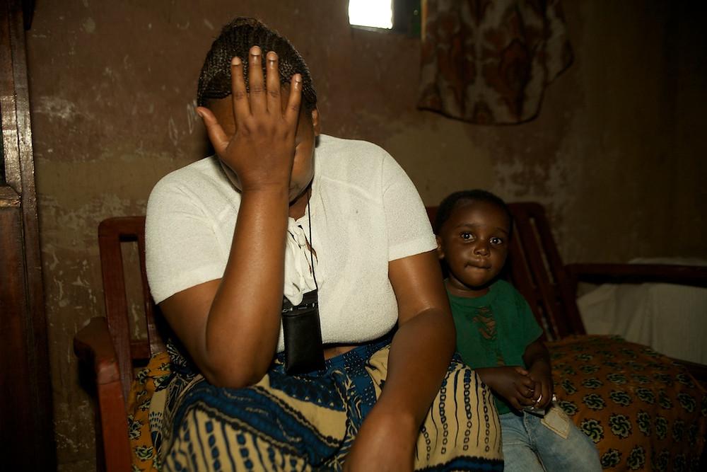 3 Rwanda genocide survivor giving testimony jpg