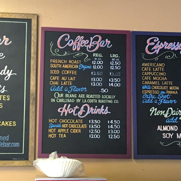 Chocolate Bar and Coffee