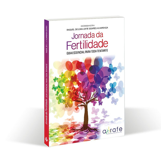 """Livro """"Jornada da fertilidade: guia essencial para toda tentante"""""""