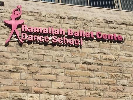 Position in Ramallah Ballet Centre as an artistic director for Autumn 2019