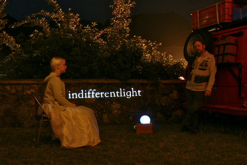 InDifferentLight 2015 | InDifferentLight | Performance Nomadic Village Art Residency, Cerkno Slovenia