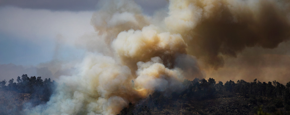Incendio en la Sierra de Guadalupe, Ciudad de México