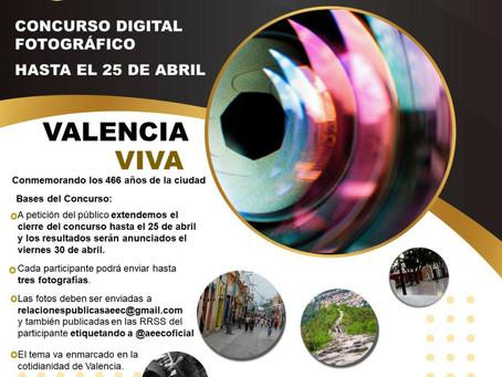 Concurso Fotográfico en conmemoración al aniversario N° 466 de la ciudad de Valencia
