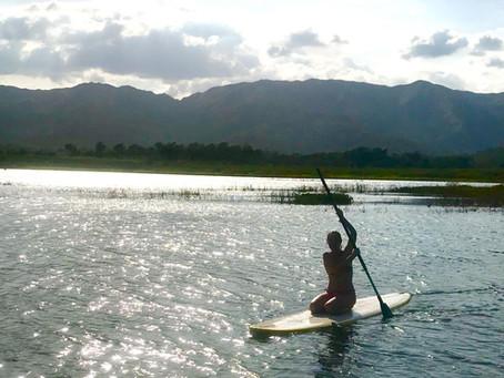 Kayak en el Dique de Guataparo