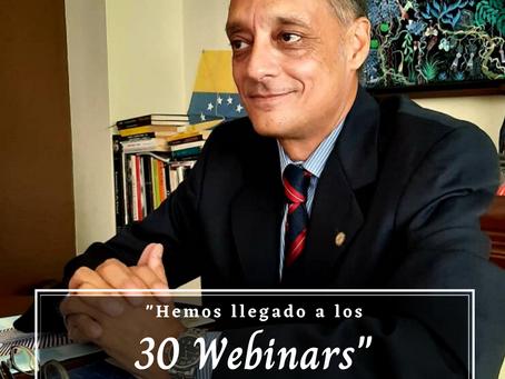 30 WEBINARS EN TIEMPO DE PANDEMIA.