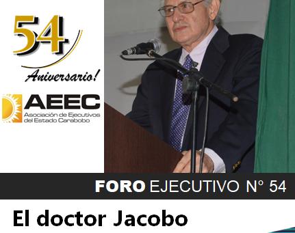 ANIVERSARIO N°54. EL DOCTOR JACOBO CUENTA LA HISTORIA.