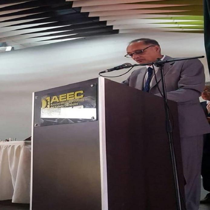 Econ. Marcos Federico Moreno. Presidente AEEC 2019 - 2020.