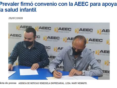 Convenio Institucional AEEC - Clínica PREVALER.