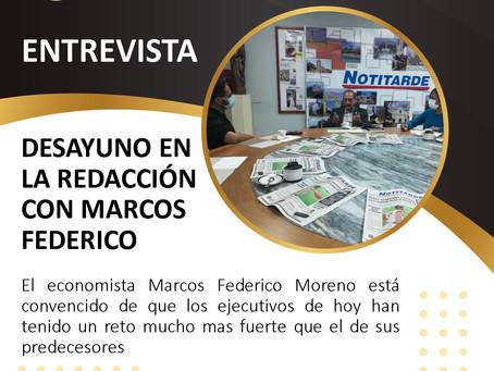 Entrevista Desayuno en La Redacción Con Marcos Federico