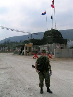 Caporal Michel Turcotte 2004, OP PALLADIUM, Bosnie