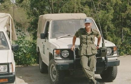 Caporal Frédérick Gagnon 1992, OP SNOWGOOSE, Chypre