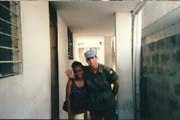 Caporal Timothy Sicard-Payant 1997, OP STABLE, Haïti