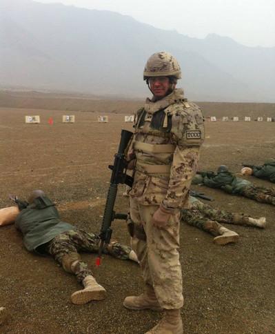 Sergent Patrick Faucher 2012, OP ATTENTION, Kaboul, Afghanistan