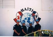Caporal Laurent Desponts, Caporal Nathalie Robitaille, Sergent Martin Higgins, Caporal-chef Benoit Van de Velde 1997, OP STABLE, Haïti