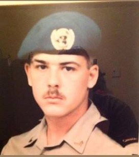 Caporal Claude Racine 1990, OP SNOWGOOSE, Chypre