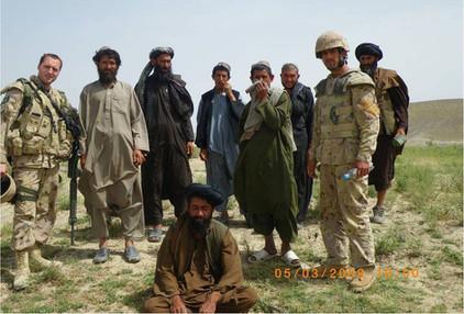 Capitaine Martin Lépine 2009, OP ATHENA, Kandahar, Afghanistan