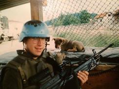 Caporal Marc Charbonneau 1993, OP CAVALIER, Bosnie