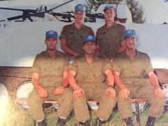 Soldat Pierre Laperrière, Soldat Stéphane D'AmoursCaporal Patrick Perreault, Caporal-chef Stéphane Desmeules, Caporal Simon-Pierre Fréchette 1993, OP CAVALIER, Bosnie
