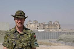 Caporal-chef Éric Kavanagh 2004, OP ATHENA, Kaboul, Afghanistan