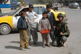 Adjudant Nelson Bluteau 2004, OP ATHENA, Kaboul, Afghanistan