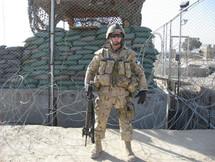 Caporal Alexandre Boutet-Paquet 2007, OP ATHENA, Kandahar, Afghanistan