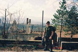 Caporal Patrick Bégin 2001, OP PALLADIUM, Bosnie